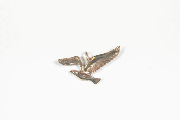 Yellow Gold Seagull Pendant