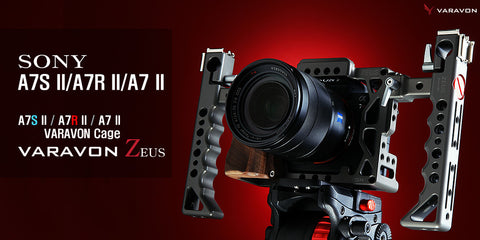 ZEUS - PREMIUM CAGE FOR A7RII & A7SII & A7II