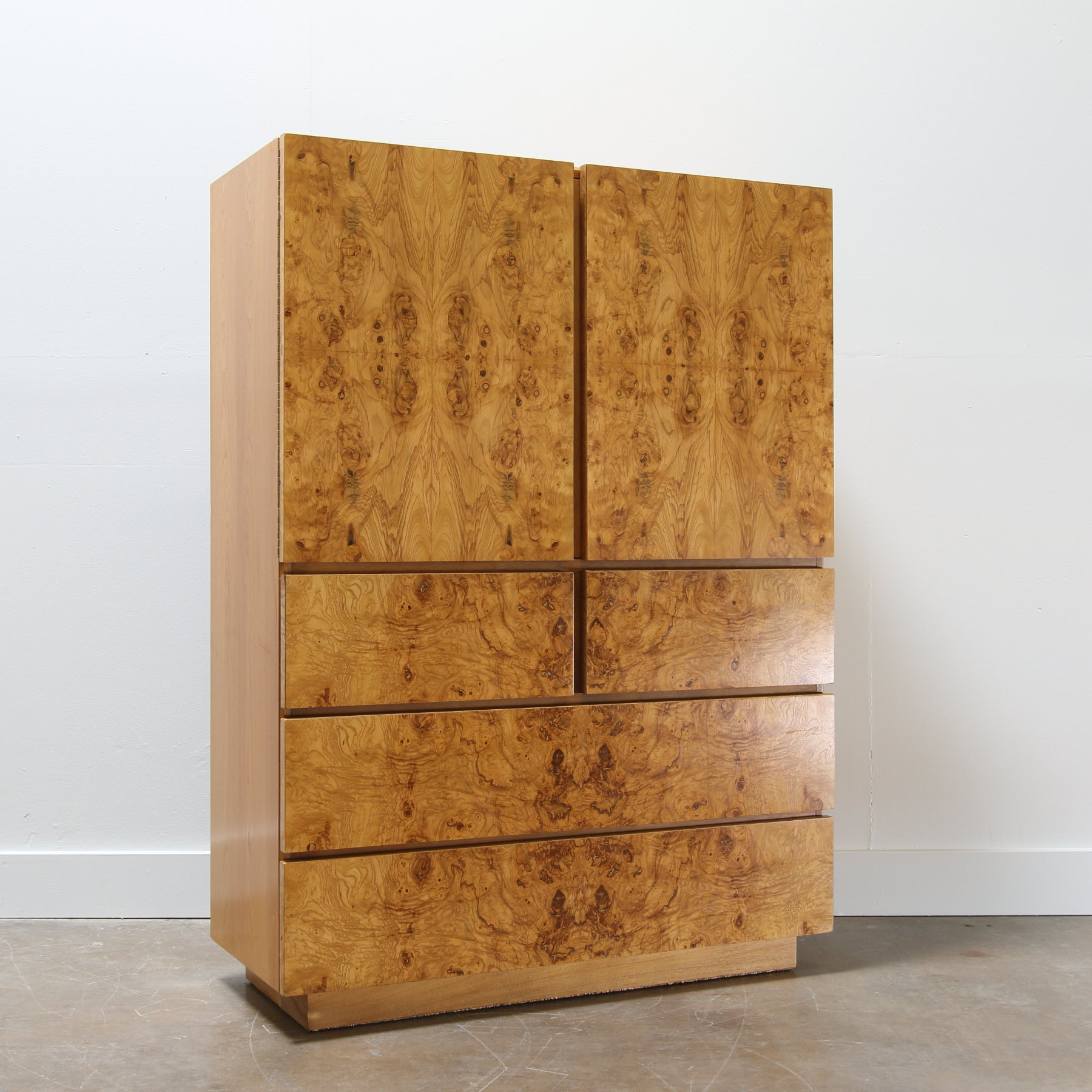 Beau Burl Wood Chest By Roland Carter For Lane Furniture