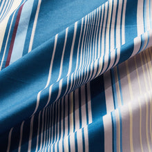 Load image into Gallery viewer, Lifestyle Marketplace Sensational Stripe Duvet Cover Set Fabric Closeup