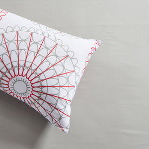 Lifestyle Marketplace Spiral Graph Duvet Cover Set Pillow Sham