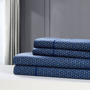 Dreamstate® 'Navy Luxe' Printed Sheet Set