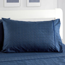 Load image into Gallery viewer, Dreamstate® 'Navy Luxe' Printed Sheet Set