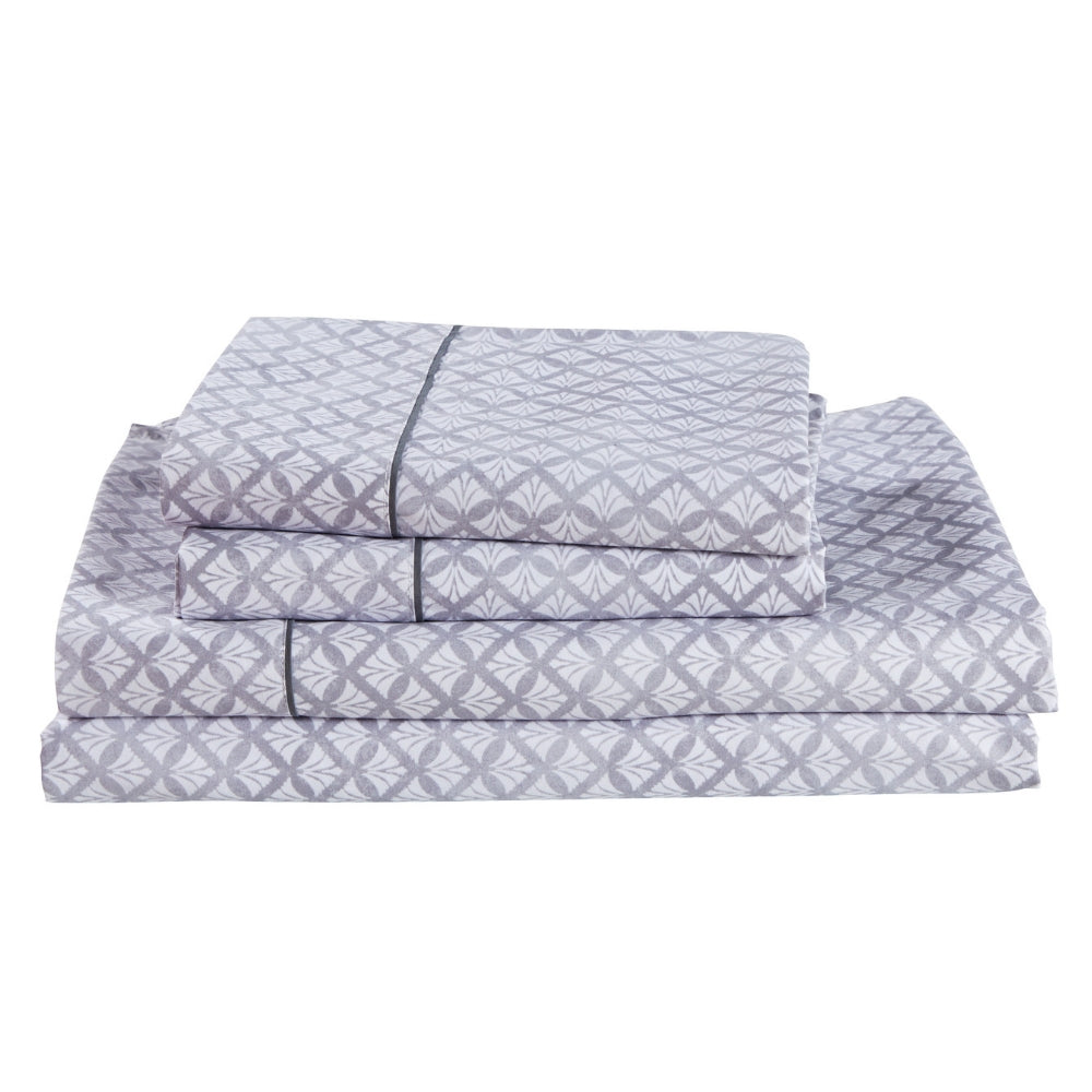 Dreamstate® 'Geometric Shell' Printed Sheet Set