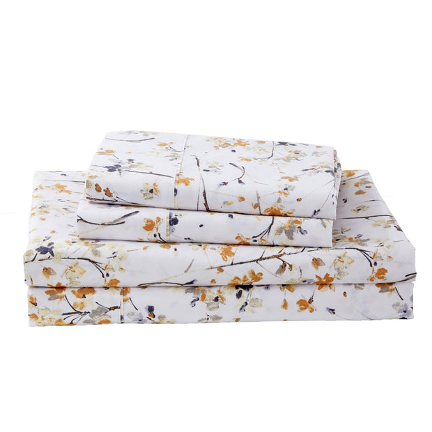 Dreamstate® 'Farmhouse Floral' Printed Sheet Set