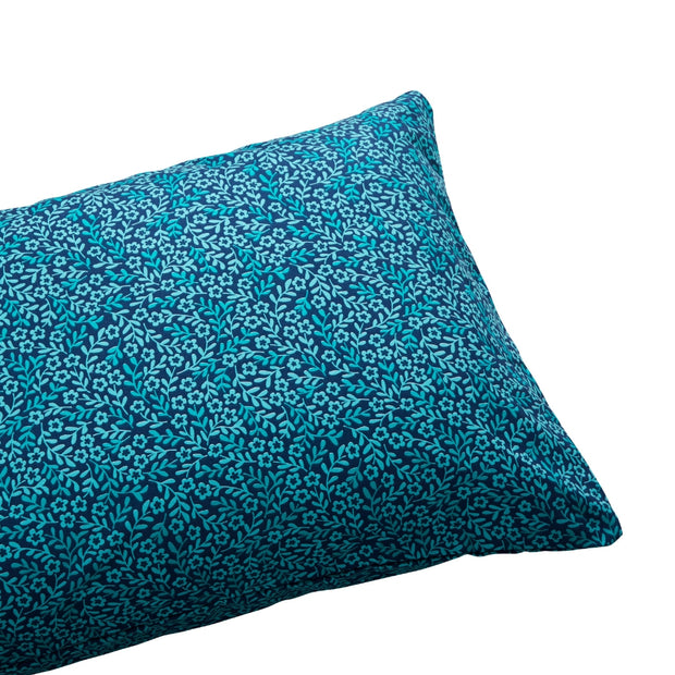 Dreamstate Printed Sheet Set - Navy & Teal Wildflowers Floral Pattern