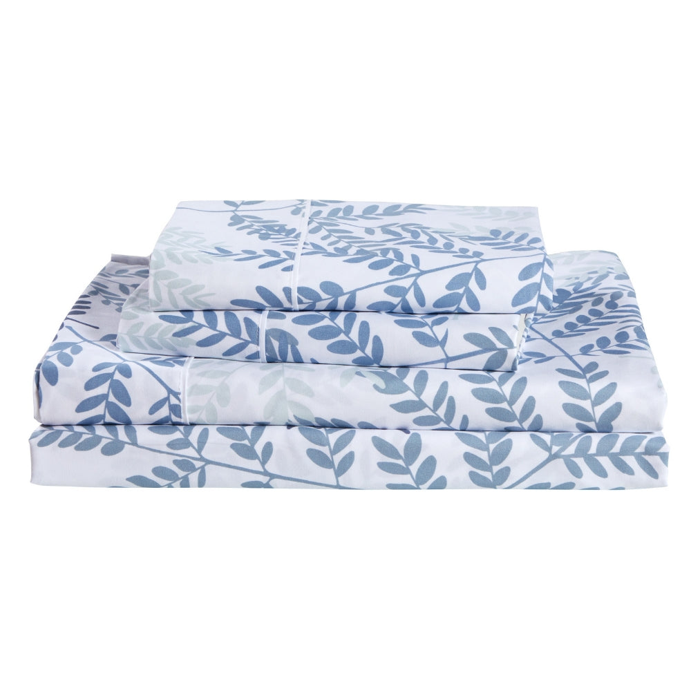 Dreamstate® 'Blue Botanical' Printed Sheet Set