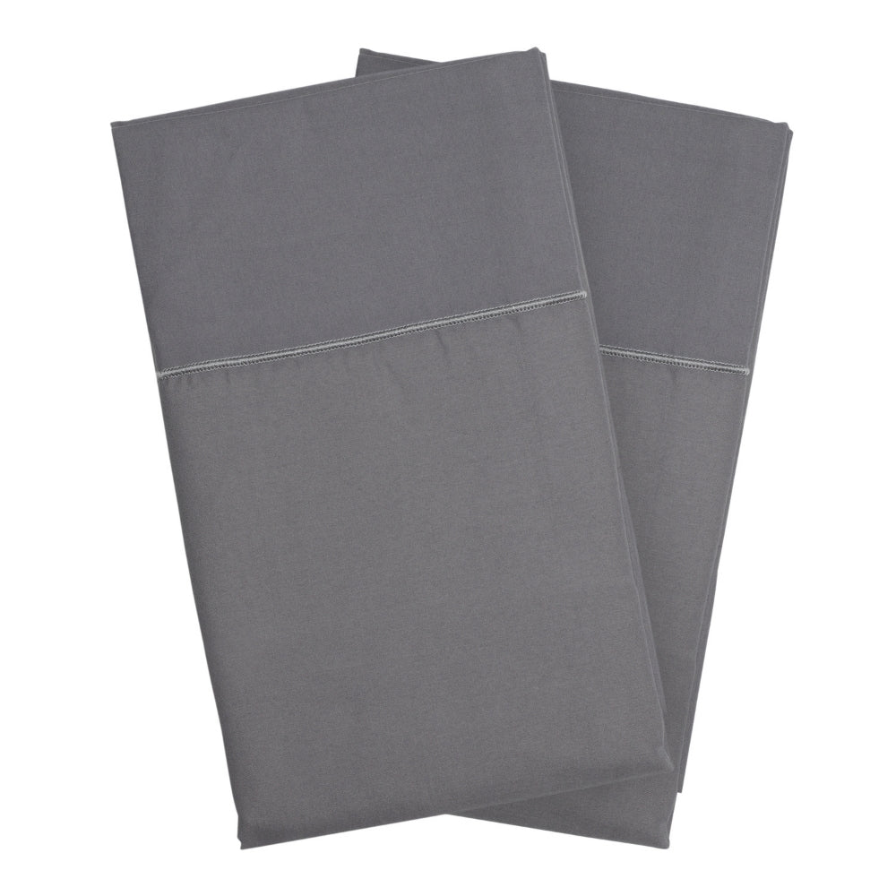 Frost Gray Pillowcase Set