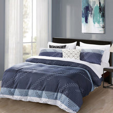 Load image into Gallery viewer, Dreamstate® Printed Monochromatic 3-Piece Duvet Cover Set