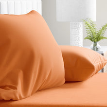 Load image into Gallery viewer, Orange Peel Pillowcase Set