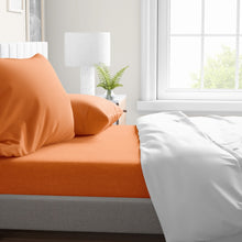 Load image into Gallery viewer, Orange Peel Sheet Set
