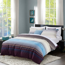Load image into Gallery viewer, Dreamstate® Sensational Stripe 3 pc Duvet Cover Set