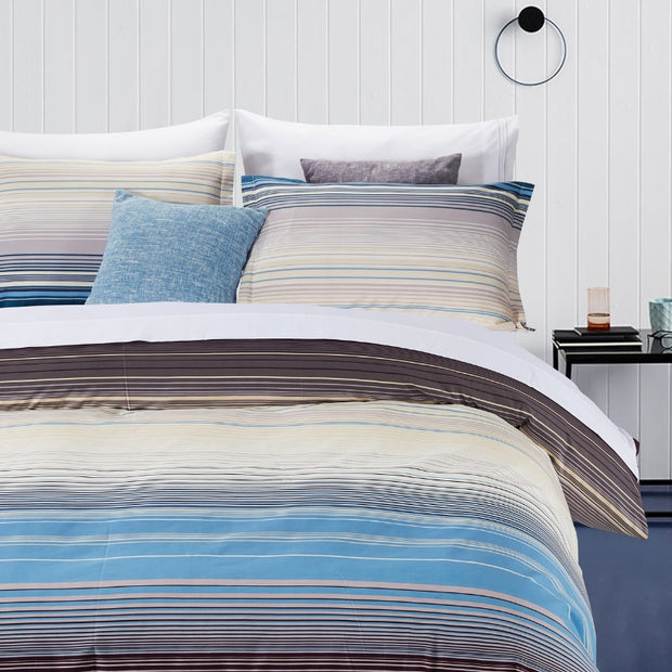 Lifestyle Marketplace Sensational Stripe Duvet Cover Set