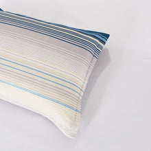 Load image into Gallery viewer, Lifestyle Marketplace Sensational Stripe Duvet Cover Set Pillow Sham