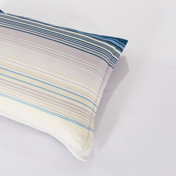 Lifestyle Marketplace Sensational Stripe Duvet Cover Set Pillow Sham
