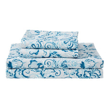 Load image into Gallery viewer, Dreamstate® 'Bohemian Blue' Printed Sheet Set