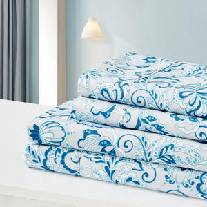 Dreamstate® 'Bohemian Blue' Printed Sheet Set
