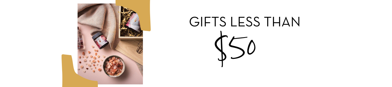 Gifts less than $50