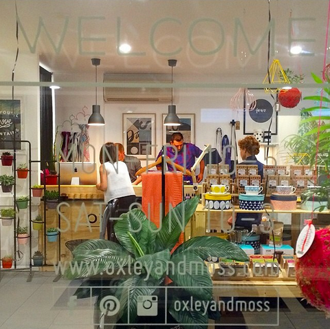 Oxley and Moss-Kingscliff Homewares and Gifts