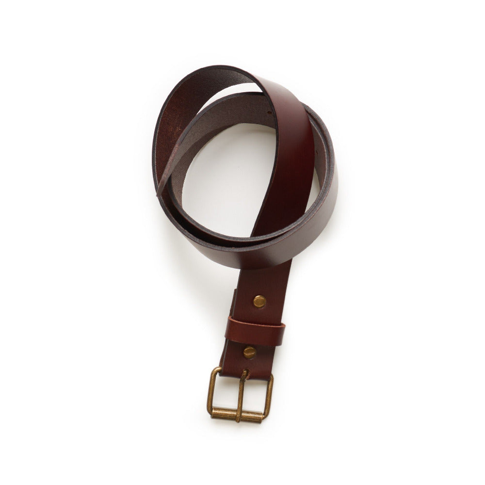 Leather Belt - Black - Oxley and Moss