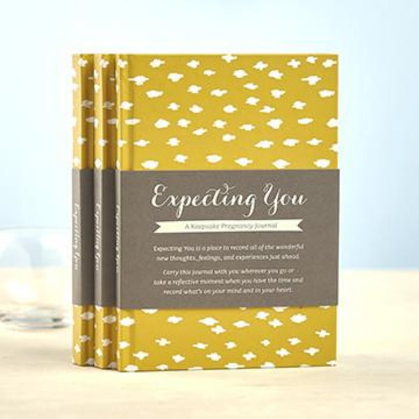 Expecting You - A Keepsake Pregnancy Journal - Oxley and Moss