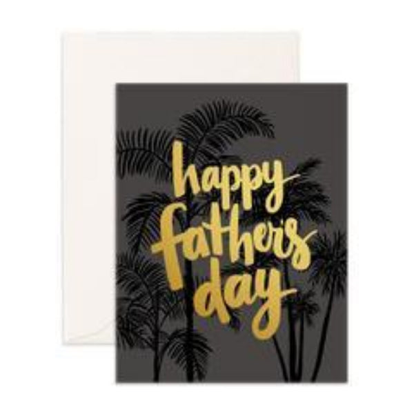 Greeting Card - Father's Day Palms - Oxley and Moss