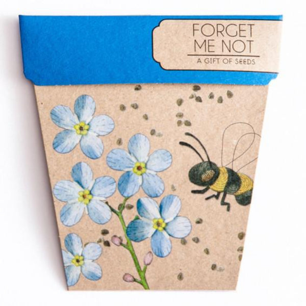 Gift of Seeds - Forget-Me-Not - Oxley and Moss