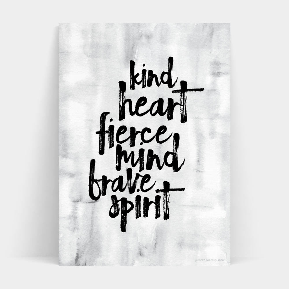 Fierce Mind Print