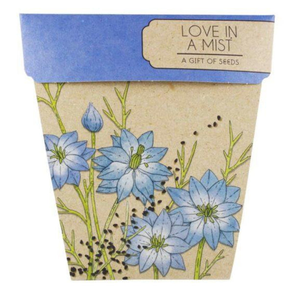 Gift of Seeds - Love In A Mist - Oxley and Moss