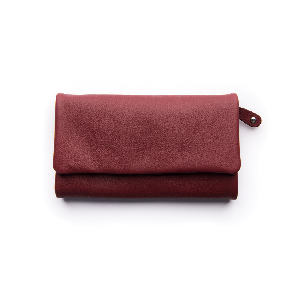 Paiget Wallet - Cherry - Oxley and Moss