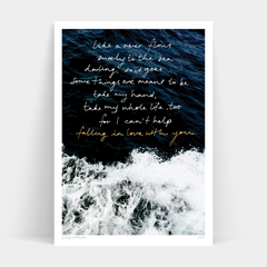Print - Beauty Behind The Lyrics - Oxley and Moss