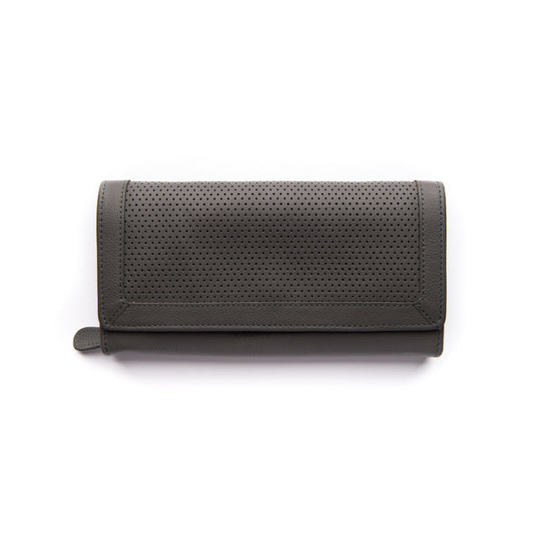 Chloe Wallet - Charcoal - Oxley and Moss