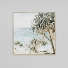 Coastal Palms Canvas Print