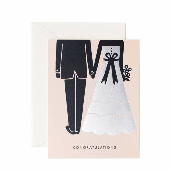 Greeting Card - Congrats Beginnings - Oxley and Moss