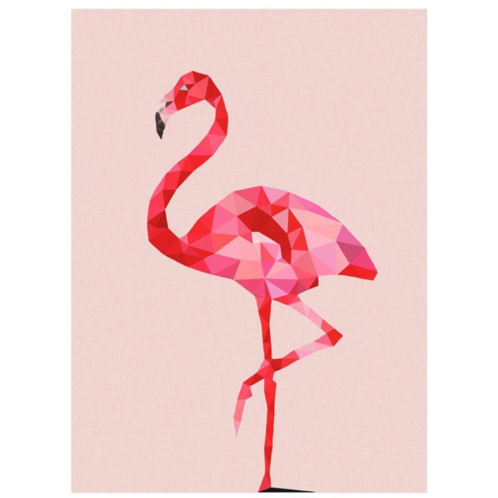 Print - Flamingo - Oxley and Moss