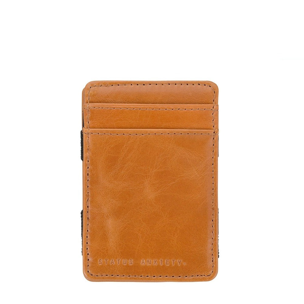 Flip Wallet - Chocolate - Oxley and Moss
