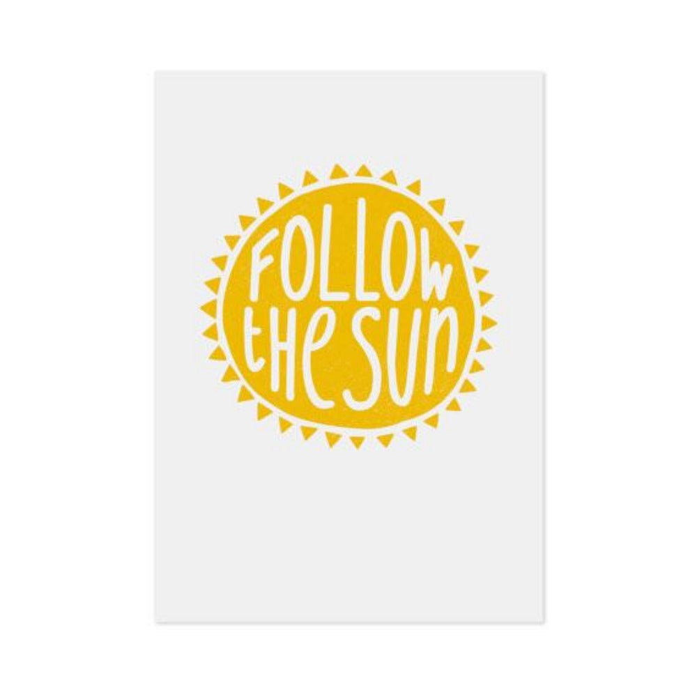 Print - Follow the Sun - Oxley and Moss