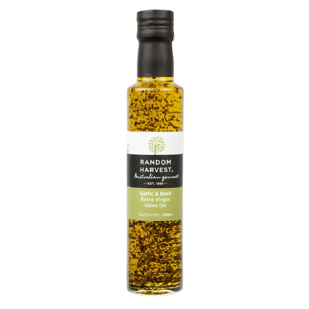 Garlic and Basil Olive Oil