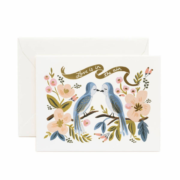 Greeting Card - Love In The Air - Oxley and Moss
