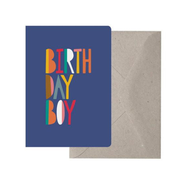 Greeting Card - Birthday Boy - Oxley and Moss