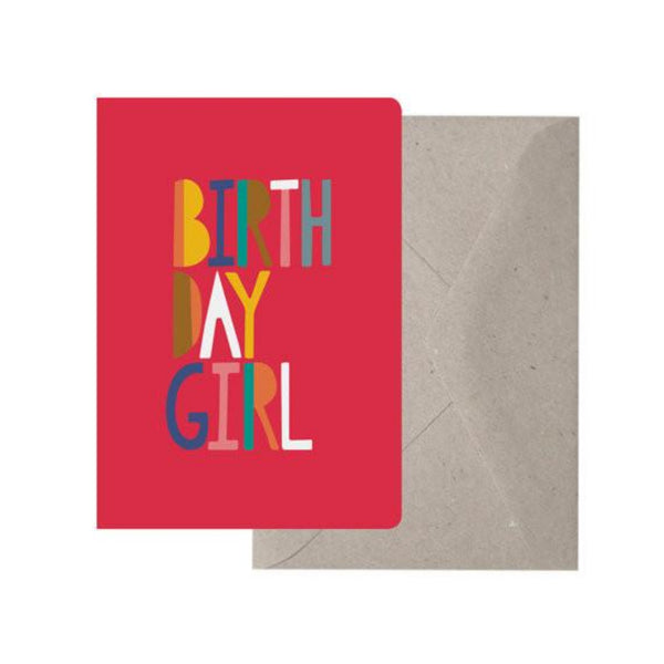 Greeting Card - Birthday Girl - Oxley and Moss