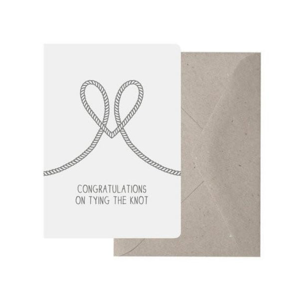 Greeting Card - Tying The Knot - Oxley and Moss