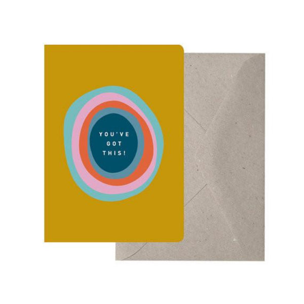 Greeting Card - You've Got This! - Oxley and Moss