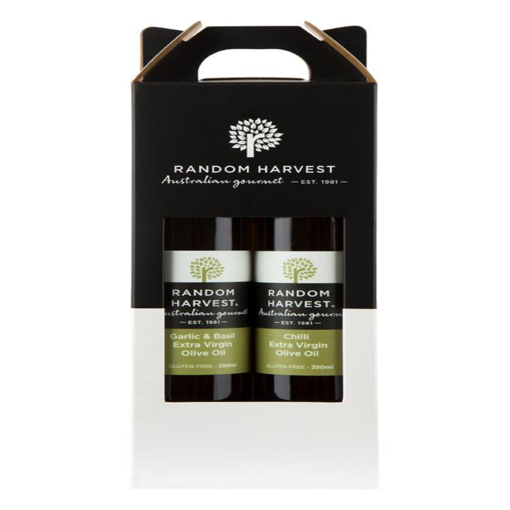 Twin Carry Case Infused Olive Oils