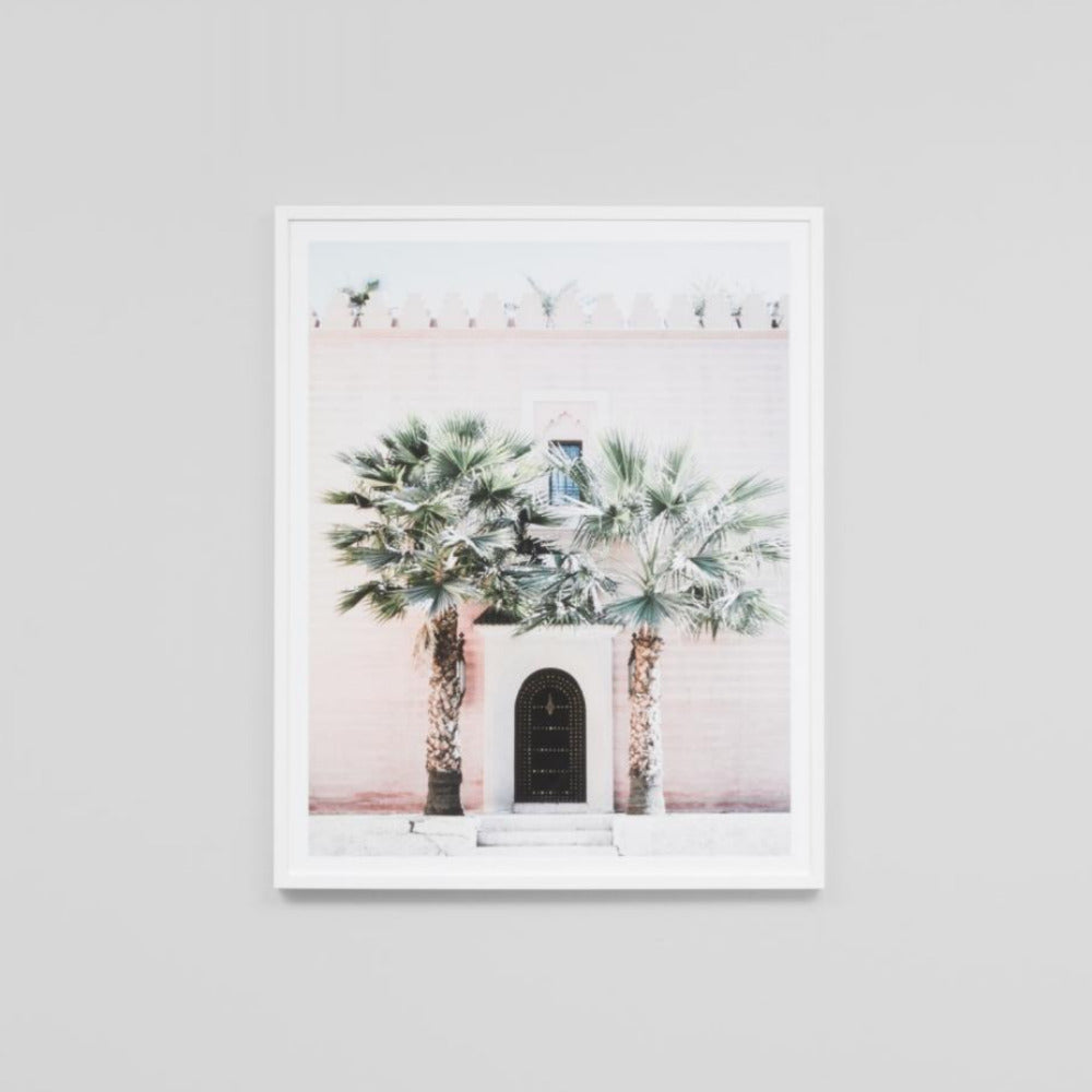 Framed Print - Moroccan Entrance - Oxley and Moss