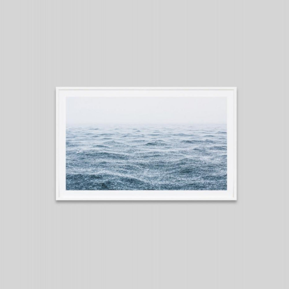 Framed Print - Ocean Rain - Oxley and Moss