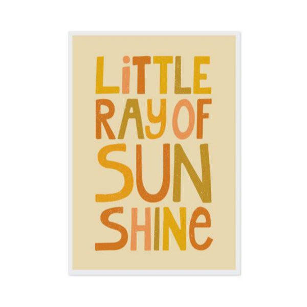 Print - Little Ray of Sunshine - Oxley and Moss