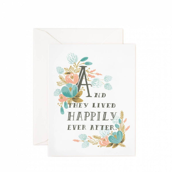 Greeting Card - Happily Ever After - Oxley and Moss