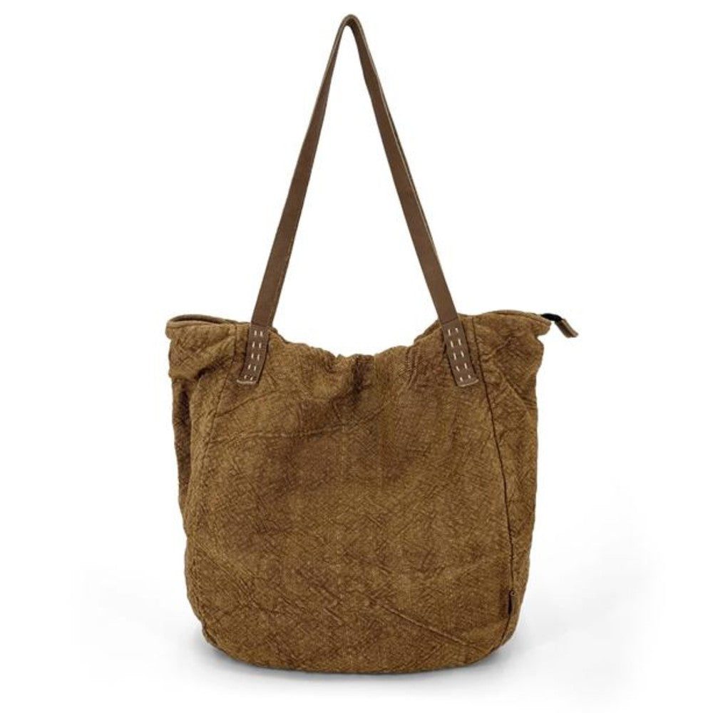 Natural Slouchy Bag