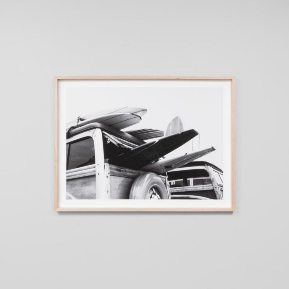 Framed Print - Surf Van - Oxley and Moss